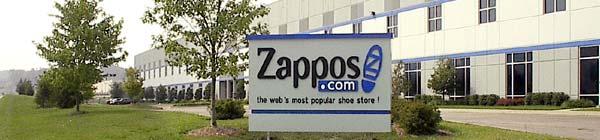Puerta del almacén de Zappos
